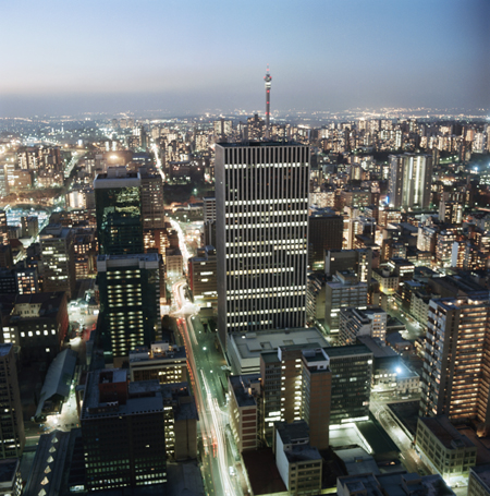 Jozi by night: Jazz, Straßencafés, Entertainment. Foto: South African Tourism