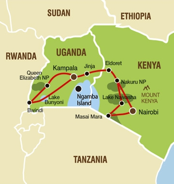 Safari Tour From Nairobi To Kampala